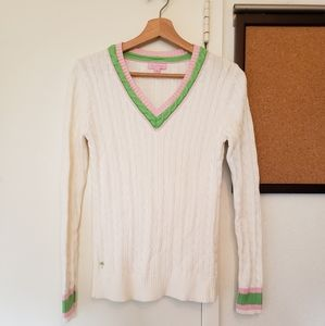Lily Pulitzer V-Sweater